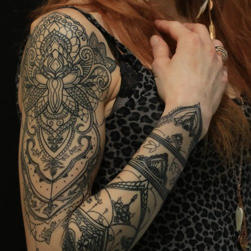Henna, Dot Art, Ornamental, Maori