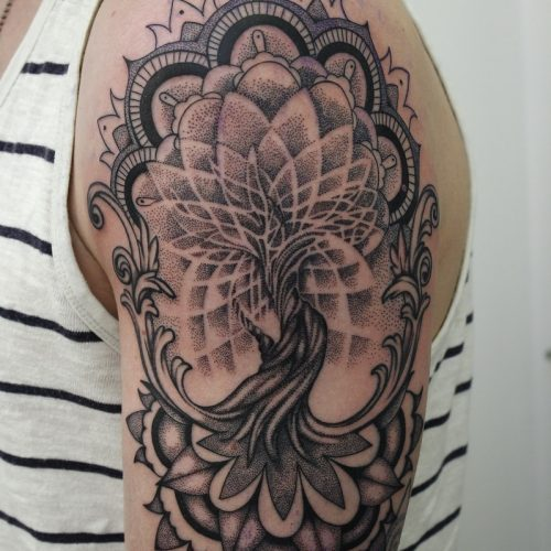 Henna, Dot Art, Ornamental, Maori